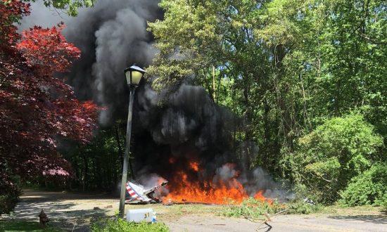 WWII-era Stunt Plane Crashes on Long Island