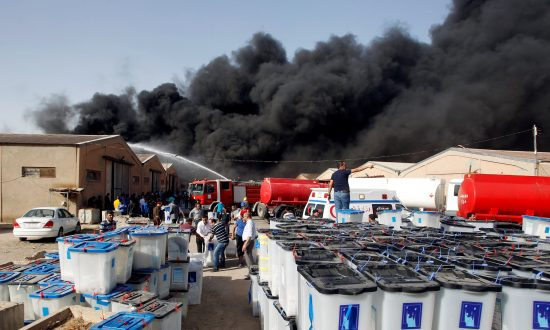 Iraqi Ballot Box Storage Site Catches Fire in Baghdad After Demand For Vote Recount