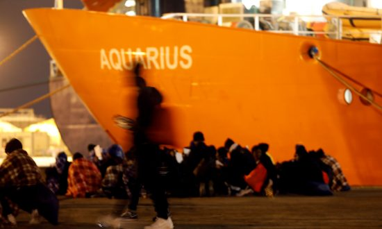 Rescue Boat Drifts at Sea as Italy Takes Anti-Migrant Stance