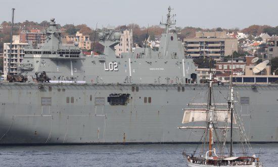 Australian Navy Spots Chinese Spy Ship Docking Near Largest Warship