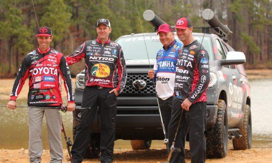 Bass Fishing Texas Style With Toyota Tundra