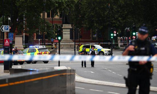 Car Crashes Outside British Parliament: Man Arrested on Suspicion of Terrorism