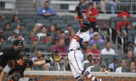 MLB Recap: Braves' Acuna Plunked, Hurt in Testy Win