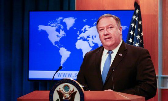 Pompeo Creates Iran Action Group as Sanctions Tighten on Regime
