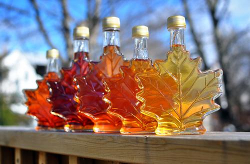 Tea Meets Maple Syrup