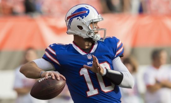 Buffalo Bills Quarterback McCarron Suffers Fractured Collarbone
