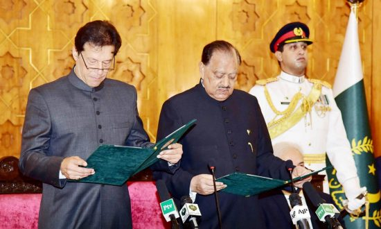 Cricket Legend Imran Khan Sworn in as Pakistan Prime Minister
