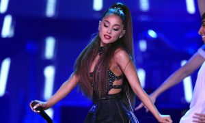 Ariana Grande Tears up as She Recalls Manchester Tragedy